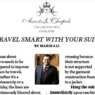 Travel Smart with Your Suit