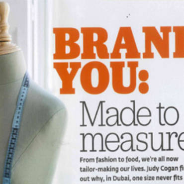 Brand You – Made to Measure