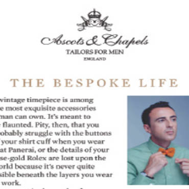 Esquire Style – The Bespoke Life